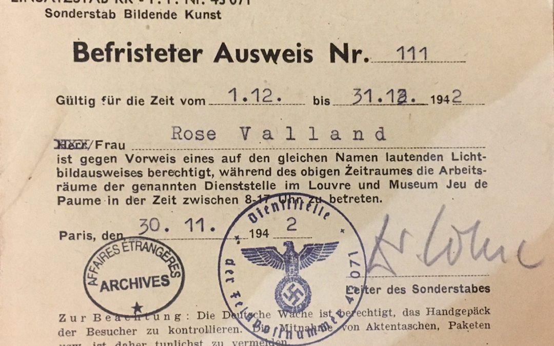 Rose Valland: Hero in the Museum