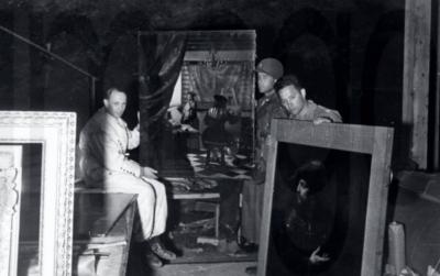 World War II Art stored in Salt mine